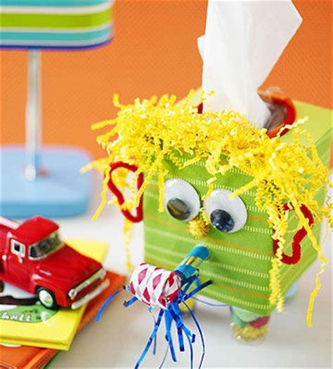 tissue paper box craft sneezy does it tissue box craft