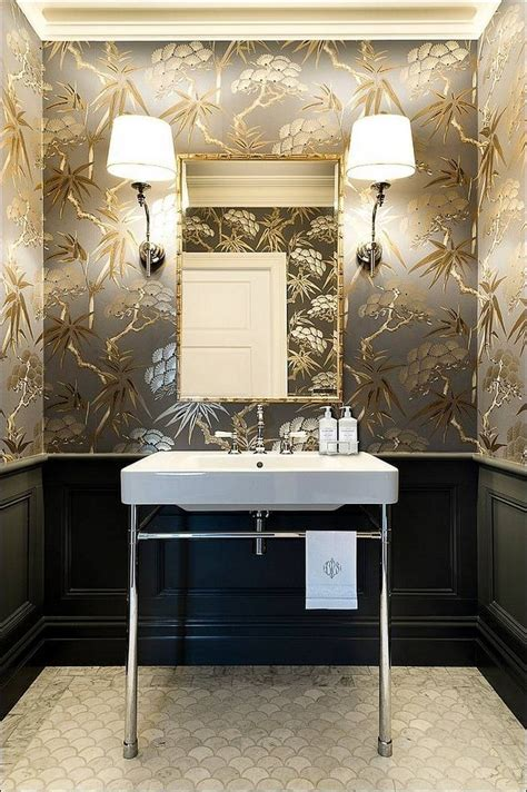 modern wallpaper bathroom gorgeous wallpaper ideas for your modern bathroom