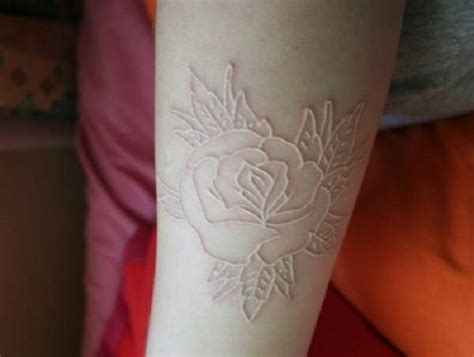 white ink tattoos and uv tattoos are they a fad