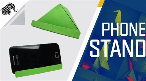 how to make a origami phone origami how to make an origami phone stand holder