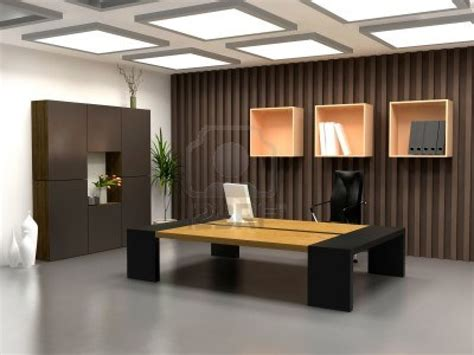 modern office interior design the modern office interior design 3d render office
