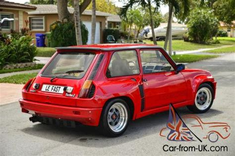 Renault Le Car Turbo by 1980 Renault R5 Turbo 2 Le Car Le Fast