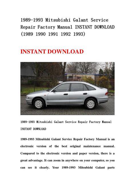 car service manuals pdf 1993 mitsubishi galant transmission control mitsubishi galant service repair workshop manual 1989 1993 autos post