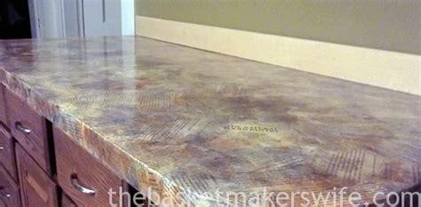 decoupage countertops decoupage countertop