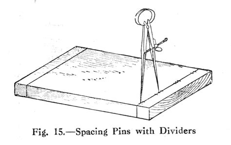 woodworking dividers spacing dovetails with dividers a history