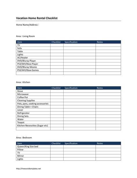 rental invoice template checklist template word selimtd