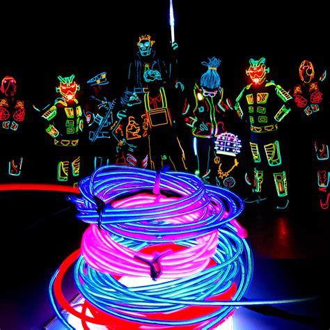 el wire flexible neon light glow party dance outdoor
