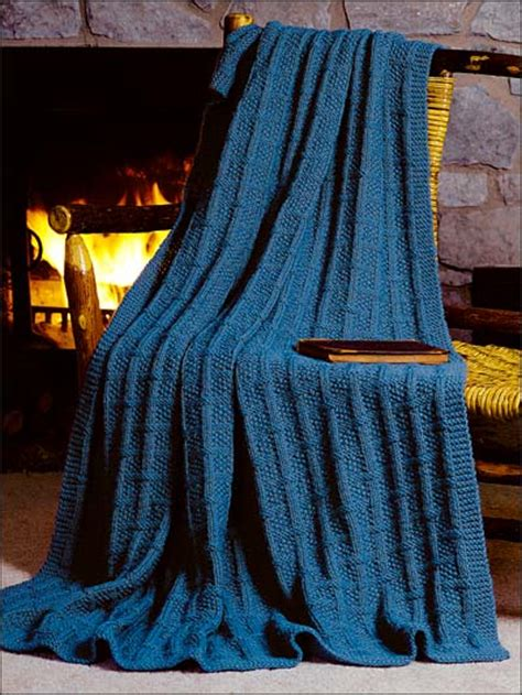 free knitting afghan patterns knitting classics square lattice afghan