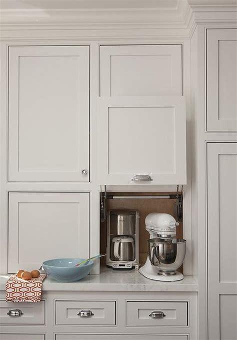 kitchen cabinet appliance garage small kitchen appliances garage transitional kitchen