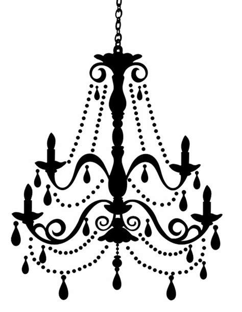 chandelier silhouette clip doodlecraft freebies week chandelier silhouettes