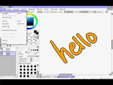 paint tool sai how to resize image help with paint tool sai yahoo answers