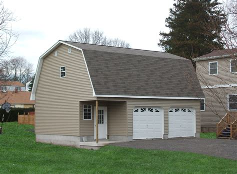 two car garage dimensions detached two car garage prices from amish pennsylvania