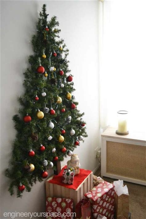 flat tree to hang on wall giveaway wall mounted tree smart diy