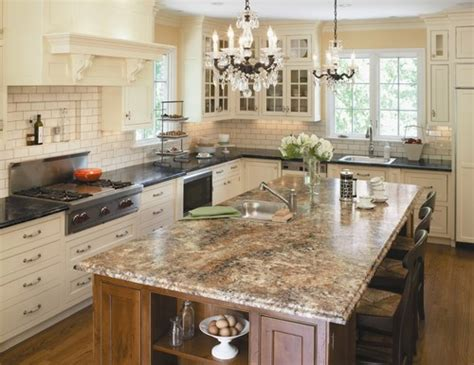 marble kitchen islands granite kitchen island pictures and ideas