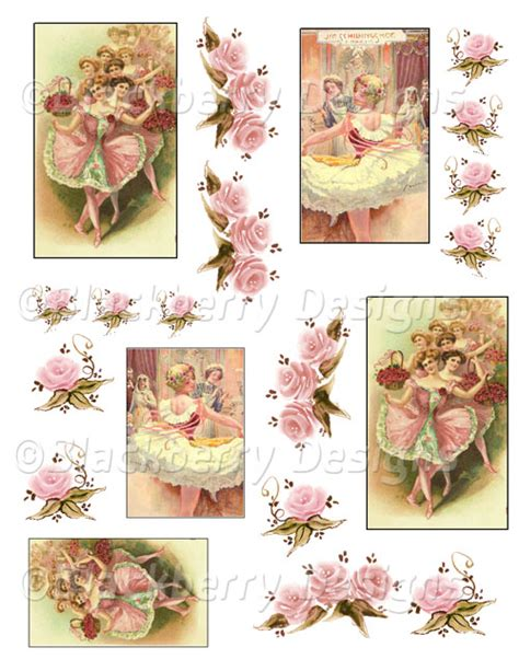 pictures for decoupage decoupage paper original tissue ballernia collage sheet