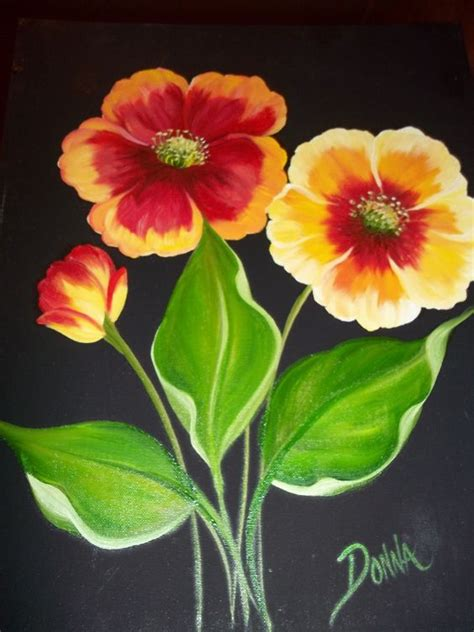 one stroke flowers painting painted one stroke donna dewberry painting tutorials