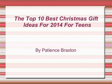 the top 10 best gift ideas for 2014 for