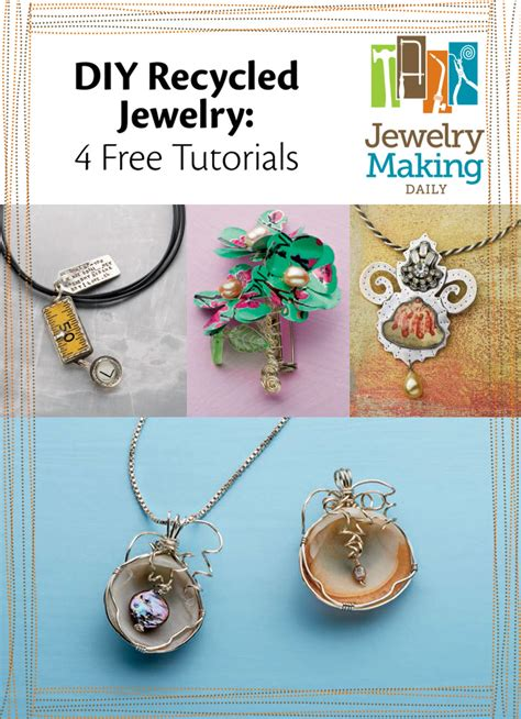 how to make recycled jewelry free diy recycled jewelry ideas on a budget jewelry