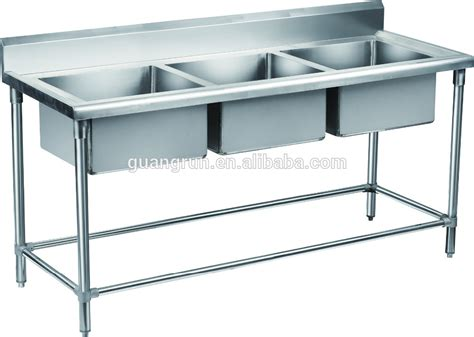 used commercial kitchen sinks bowl hotel used free standing commercial stainless