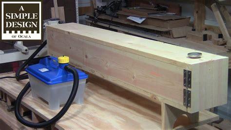 steam box woodworking plans build a steam bending box doovi
