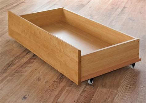 drawer bed pair of oak finish bed drawers underbed drawers