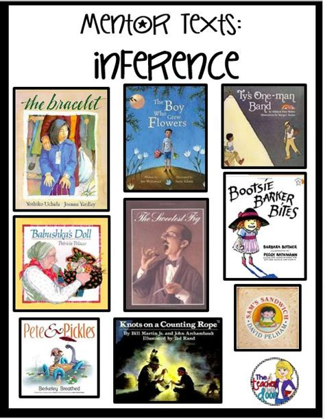 using picture books to teach comprehension strategies tips for teaching inferences mentor texts are a great