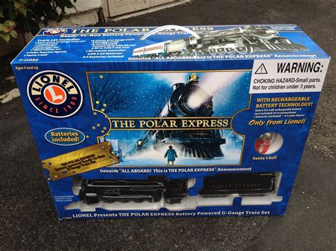 electric tree set the polar express lionel g scale battery