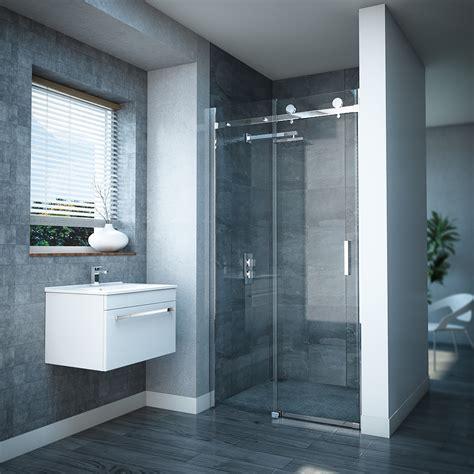 shower doors uk frameless sliding shower door at plumbing uk