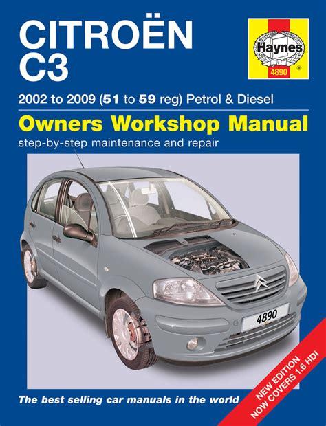 what is the best auto repair manual 2007 maserati quattroporte interior lighting citroen c3 petrol diesel 02 09 haynes repair manual haynes publishing