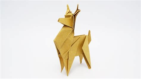 origami reindeer origami reindeer jo nakashima