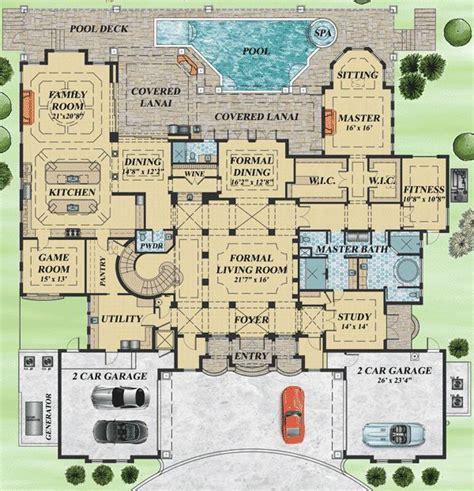 mediterranean house floor plans top 25 best mediterranean house plans ideas on