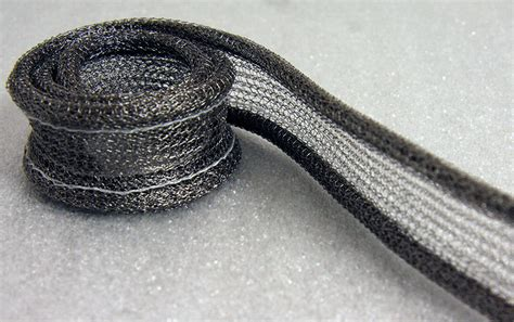 knitted wire mesh knitted wire mesh conductive rubber kemtron