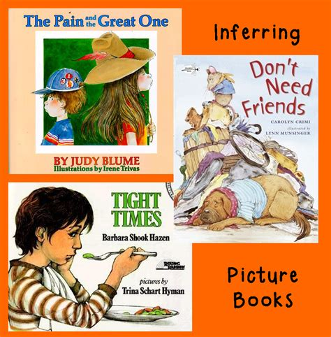 teaching inferencing with picture books hoots n hollers five for friday a busy week