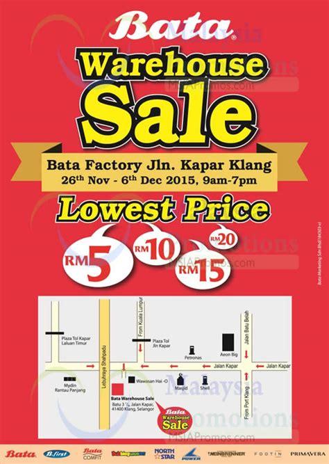 warehouse sales bata brands warehouse sale klang 26 nov 6 dec 2015