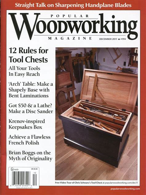 popular woodworking subscription rethinking the traditional tool chest popular