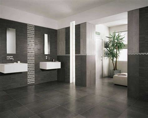 modern tiles for bathrooms modern bathroom floor tile ideas with black color home