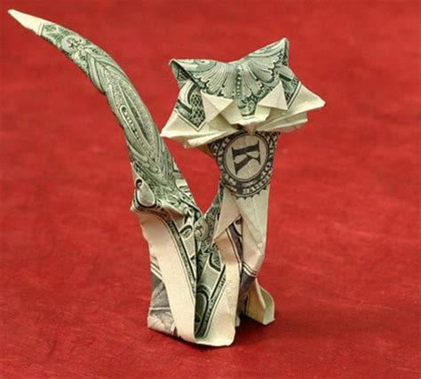 money origami stunning origami made using only money i like to waste
