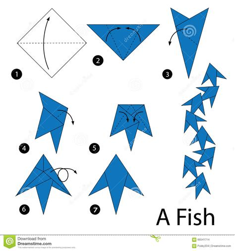 how to make origami fish step by step step by step how to make origami fish stock