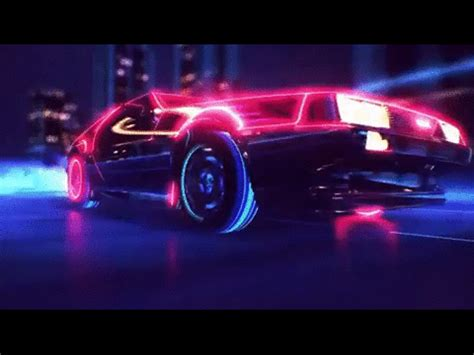 Car Wallpaper Gif by Awesome 80s Gif Find On Giphy