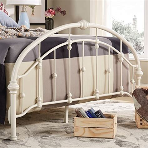 white steel bed frame white antique vintage metal bed frame in rustic wrought