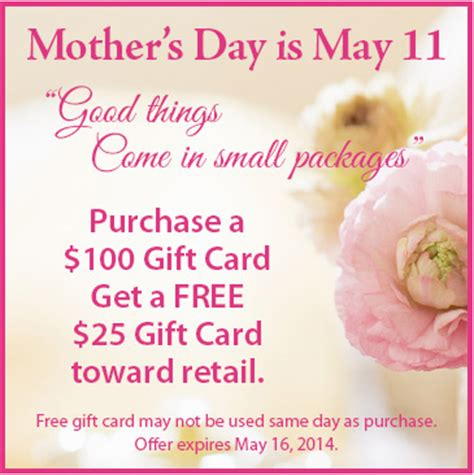 gift card specials 2014 s day specials heaven earth salon
