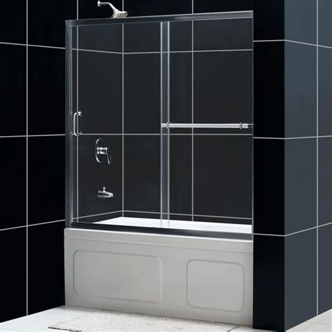 sliding glass shower doors tub infinity plus sliding tub door glass tub door from