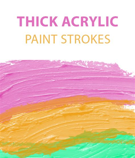 how to paint acrylic without brush strokes thick paint acrylic free photoshop brush set creative nerds