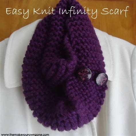 how to knit a scarf quickly easy knit infinity scarf stitches yarns and infinity scarfs
