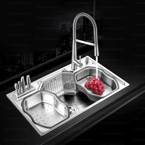 practical large capacity single bowl stainless steel