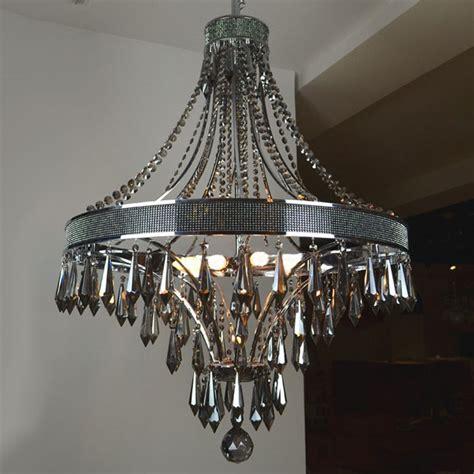 metal chandeliers modern smoke and black metal chandelier 9384