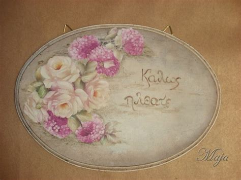 decoupage signs 28 best images about decoupage plates on