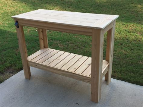 grill table plans white build a grilling table free and easy diy