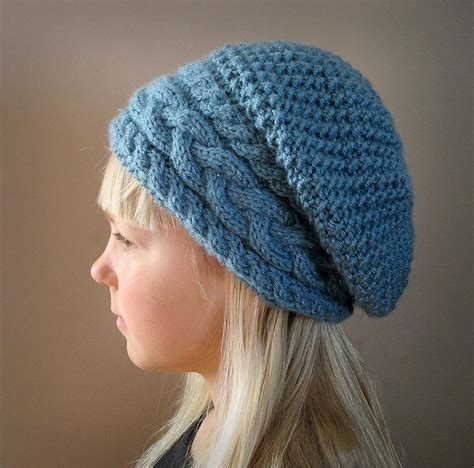 pattern for knitted slouch hat stillness of winter slouch hat by knotenufknit craftsy