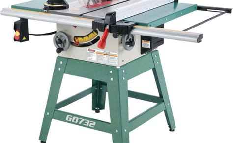 table saws reviews grizzly g0732 contractor table saw review table saw central